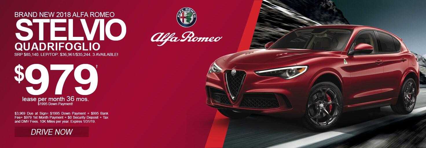 New Alfa Romeo Stevlio Quadrofoglio Inventory Long Island Alfa