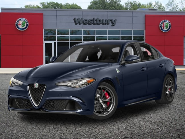 New 2018 Alfa Romeo Giulia QUADRIFOGLIO RWD Sedan in Long Island, NY