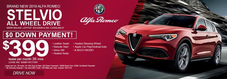 Alfa Romeo Stelvio Oct 2019