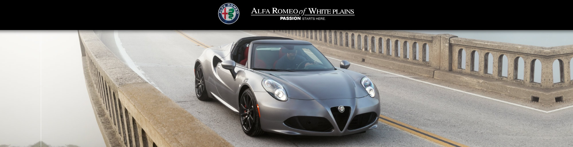 Alfa Romeo 4C lease deal image