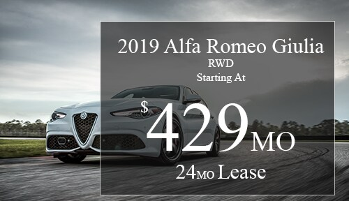 New Vehicle Specials Alfa Romeo Of Winter Haven