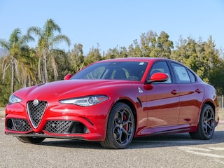 Featured new Alfa Romeo sports cars 2019 Alfa Romeo Giulia QUADRIFOGLIO RWD Sedan for sale near you in Santa Barbara, CA