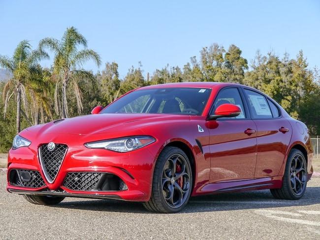 2019 Alfa Romeo Giulia QUADRIFOGLIO RWD Sedan