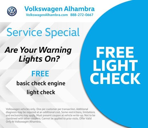 Service Specials near Monterey Park, CA | Volkswagen Alhambra