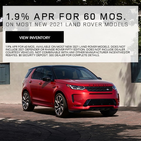 1.9% APR For 60 Mos.