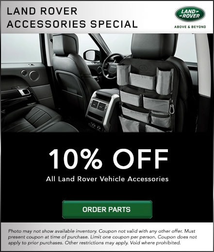 Land Rover Accessory special