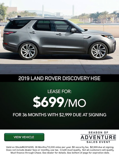 $699 PER MONTH WITH $2,999 DUE AT SIGNING
