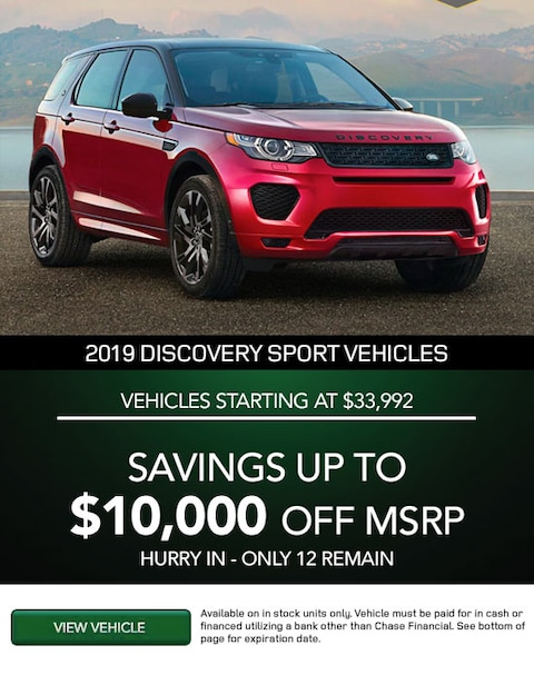VEHICLES STARTING AT $33,992. SAVINGS UP TO $10,000 OFF MSRP.