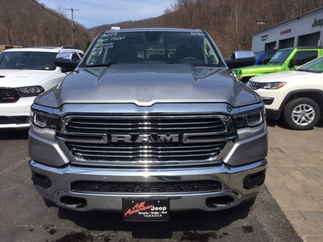 New 2019 Ram 1500 LARAMIE QUAD CAB 4X4 6'4 BOX Quad Cab in Tamaqua near Hazleton