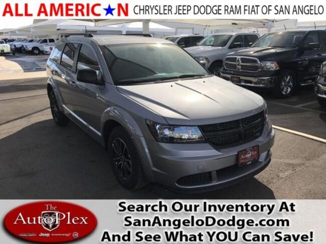 New 2018 Dodge Journey SE Sport Utility San Angelo, TX