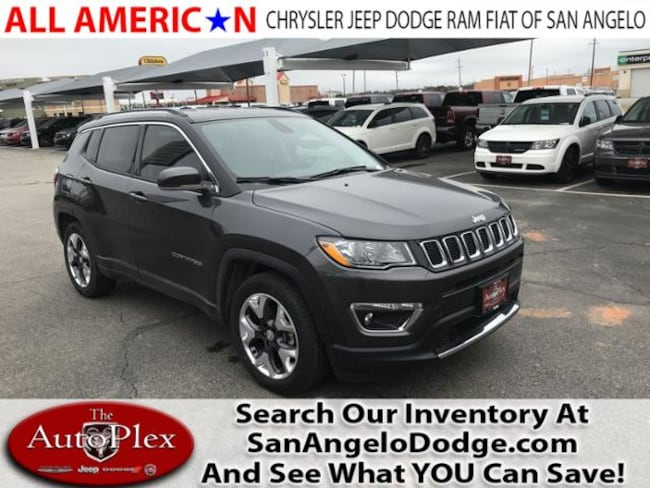 New 2018 Jeep Compass LIMITED FWD Sport Utility San Angelo, TX