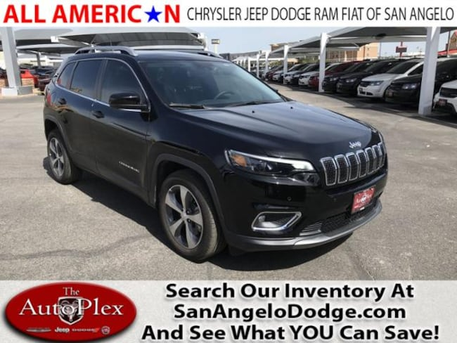 New 2019 Jeep Cherokee LIMITED FWD Sport Utility San Angelo, TX
