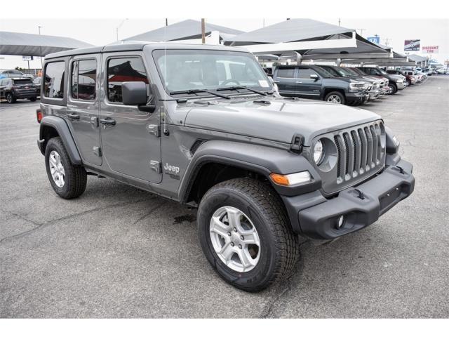 Used 2019 Jeep Wrangler Sport 4x4 SUV San Angelo, TX
