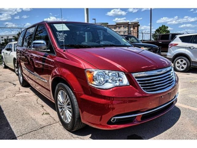 Certified Pre-Owned 2015 Chrysler Town & Country Touring-L Van San Angelo