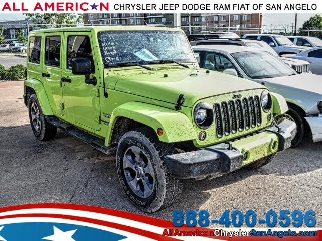 2016 Jeep Wrangler JK Unlimited SUV