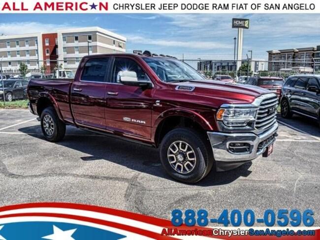 New 2019 Ram 2500 LARAMIE LONGHORN CREW CAB 4X4 6'4 BOX Crew Cab San Angelo, TX