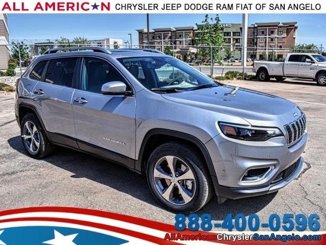New 2019 Jeep Cherokee LIMITED 4X4 Sport Utility San Angelo, TX