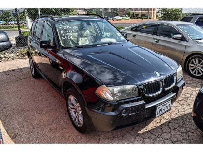 Used 2005 BMW X3 3.0i SUV San Angelo, TX