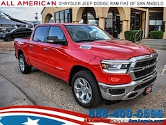 New 2019 Ram 1500 BIG HORN / LONE STAR CREW CAB 4X2 5'7 BOX Crew Cab San Angelo, TX