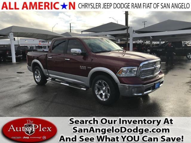Used 2016 Ram 1500 Laramie Truck Crew Cab San Angelo, TX