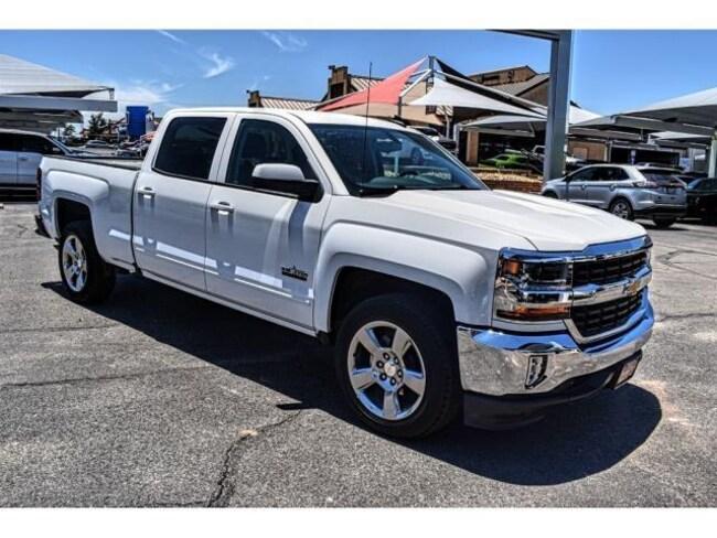 Used 2018 Chevrolet Silverado 1500 LT w/1LT Truck Crew Cab San Angelo, TX