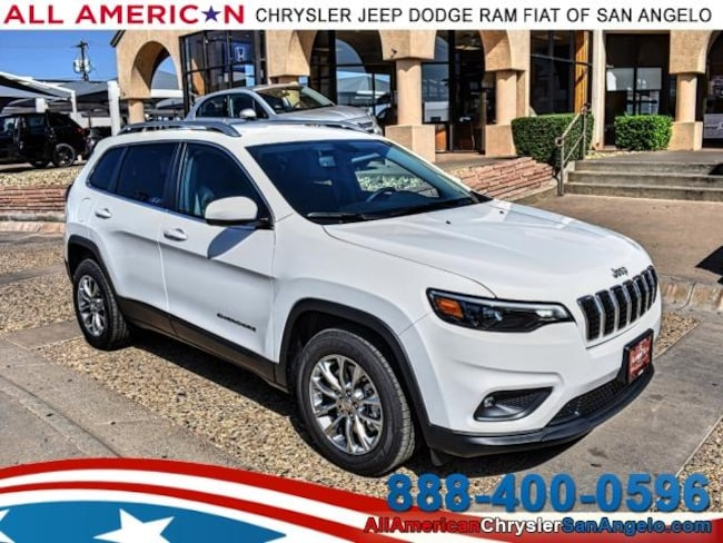 New 2019 Jeep Cherokee LATITUDE PLUS FWD Sport Utility San Angelo, TX