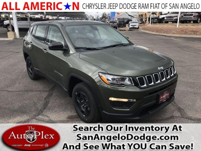 New 2019 Jeep Compass SPORT FWD Sport Utility San Angelo, TX