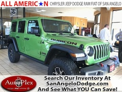 2018 Jeep Wrangler UNLIMITED RUBICON 4X4 Sport Utility San Angelo, TX