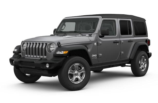 New 2019 Jeep Wrangler UNLIMITED SPORT S 4X4 Sport Utility San Angelo, TX