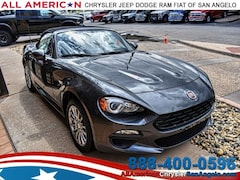 New 2018 FIAT 124 Spider CLASSICA Convertible San Angelo, TX