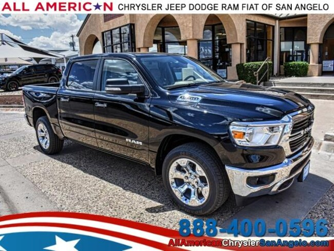 New 2019 Ram 1500 BIG HORN / LONE STAR CREW CAB 4X2 5'7 BOX Crew Cab San Angelo, TX