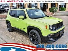 2018 Jeep Renegade ALTITUDE 4X2 Sport Utility San Angelo, TX