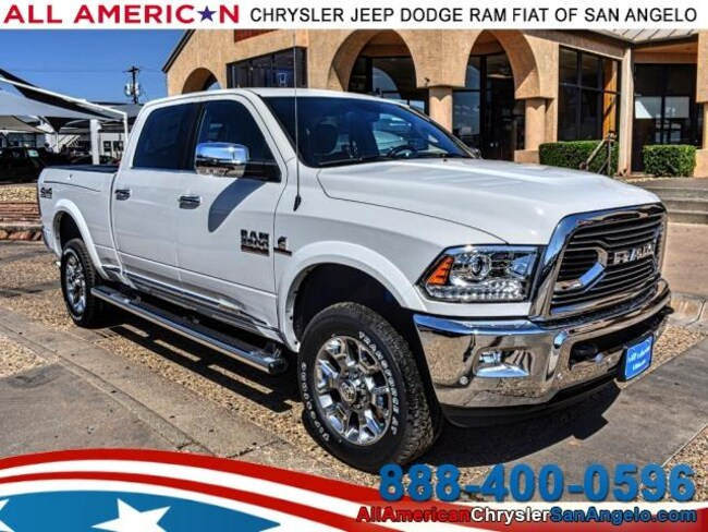 New 2018 Ram 2500 LIMITED CREW CAB 4X4 6'4 BOX Crew Cab San Angelo, TX