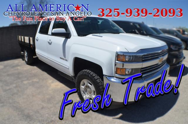 Used 2015 Chevrolet Silverado 2500HD LT Truck Crew Cab San Angelo, TX