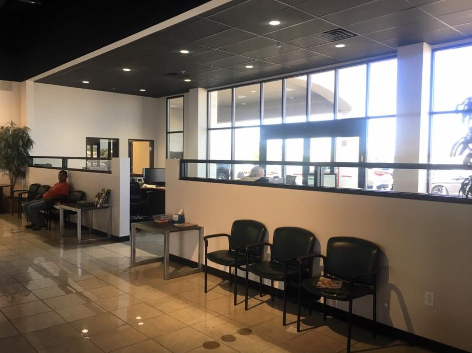 Service Waiting Area at All American Chrysler Dodge Jeep Ram of Midland