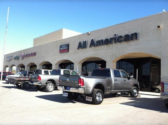 All American Dodge Odessa >> Odessa Chrysler Jeep Dodge Ram Dealership All American