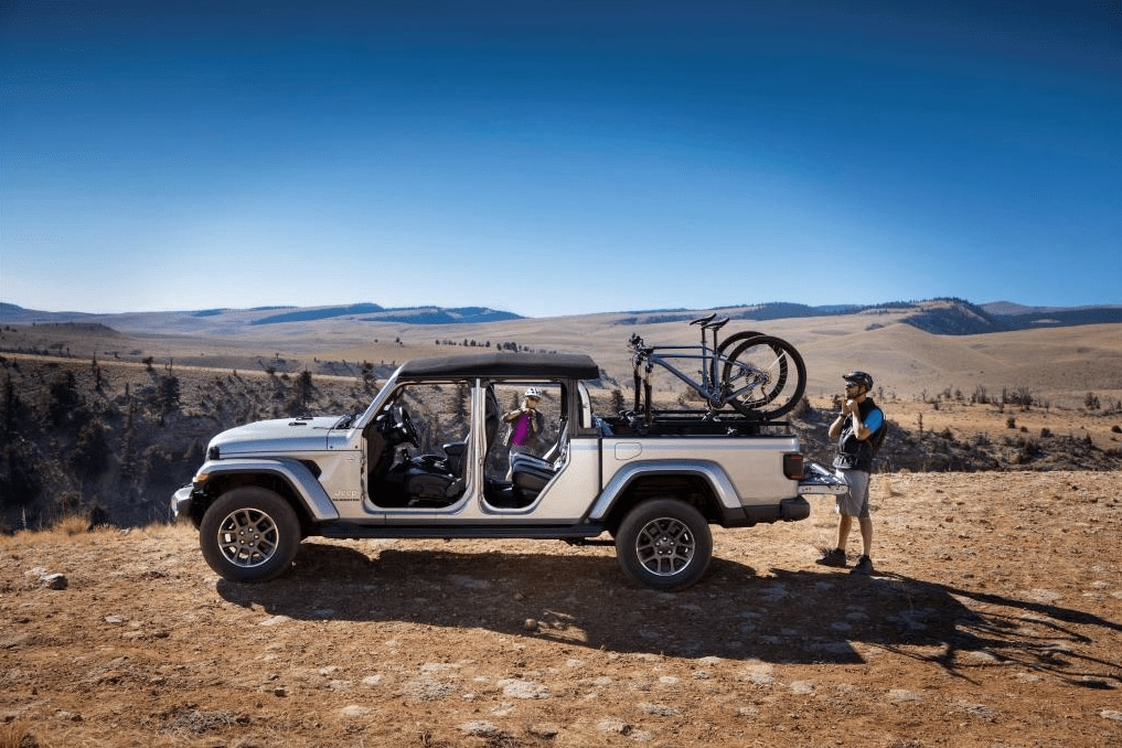 new 2020 jeep gladiator for sale in midland tx all american chrysler dodge jeep ram of midland. Black Bedroom Furniture Sets. Home Design Ideas
