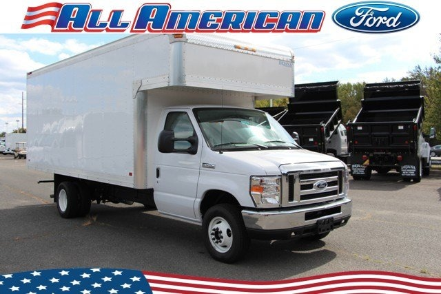 New 2018 Ford Dry Freight Box Truck E450 For Sale at All