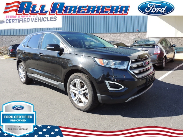 Certified Used 2015 Ford Edge Titanium SUV in Old Bridge, New Jersey