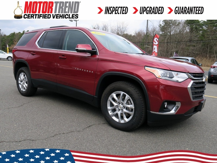 Certified Used 2018 Chevrolet Traverse LT SUV in Old Bridge, New Jersey