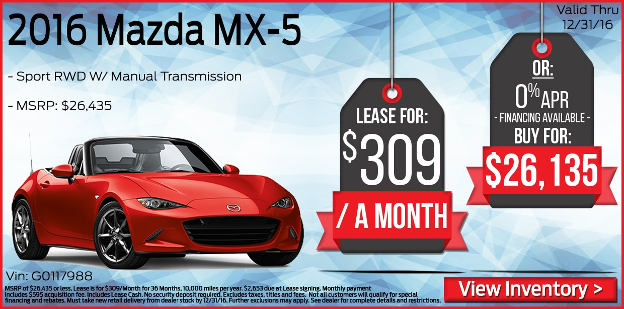 mazda lease deals nj new mazda lease specials at all american mazda in brick. Black Bedroom Furniture Sets. Home Design Ideas
