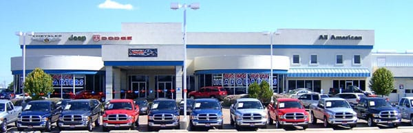 All American Chrysler Jeep Dodge of Odessa - 2510 East 8th Street