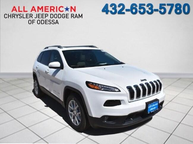 New 2017 Jeep Cherokee LATITUDE FWD Sport Utility Odessa, TX