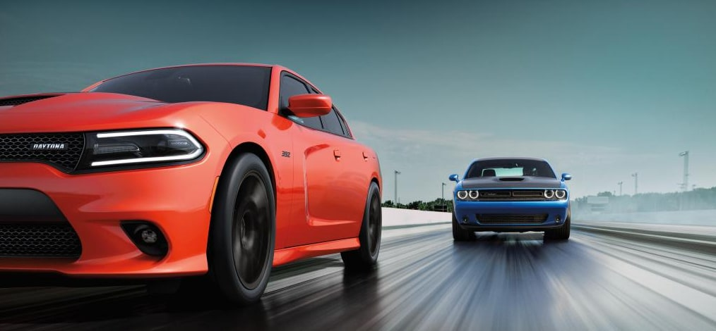 Dodge Charger vs. Dodge Challenger Comparison | All American ...