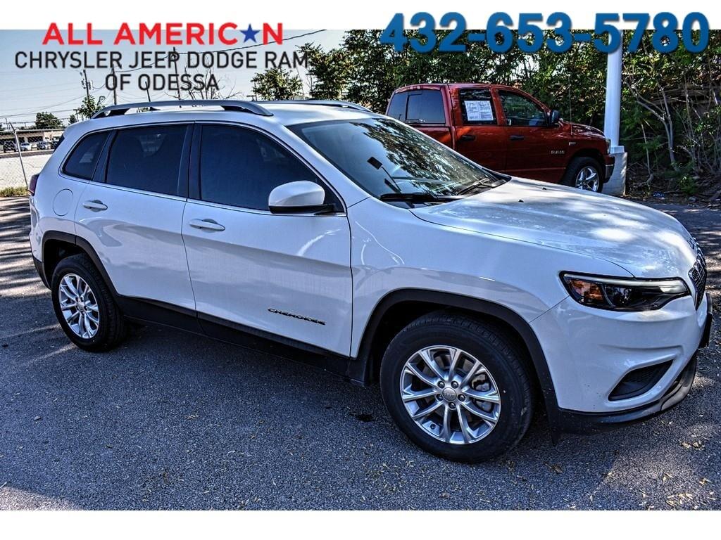 New 2019 Jeep Cherokee LATITUDE FWD Sport Utility Odessa, TX