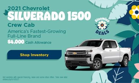 2021 Chevrolet Silverado 1500 Crew Cab- May Offer