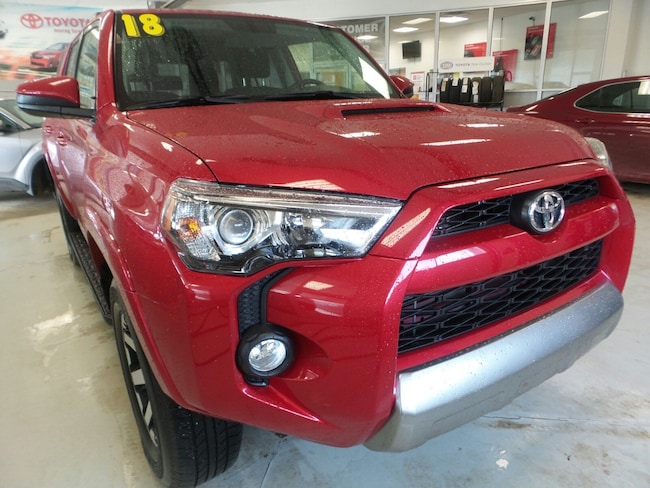 Used 2018 Toyota 4Runner TRD Off Road SUV For Sale in Franklin, PA