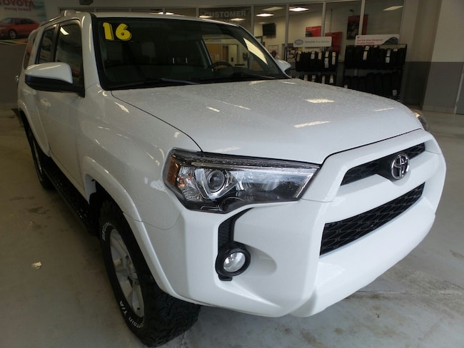 Used 2016 Toyota 4Runner SR5 SUV For Sale in Franklin, PA