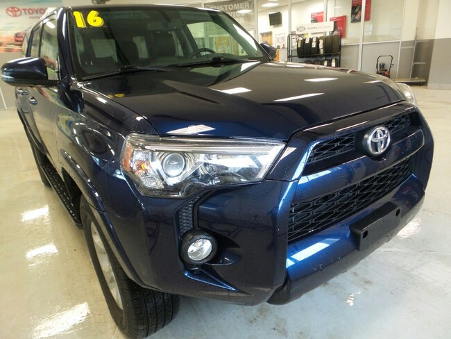 Used 2016 Toyota 4Runner SR5 Premium SUV For Sale in Franklin, PA