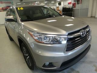 Used 2016 Toyota Highlander XLE V6 SUV for sale in Franklin, PA